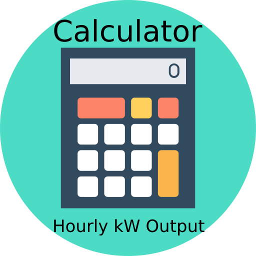Wind Turbine Calculator Hourly kW Output