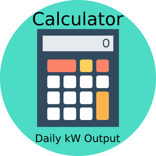 Wind Turbine Calculator Daily kW Output